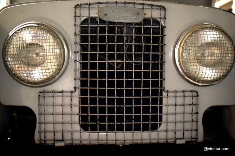grill land rover series 1
