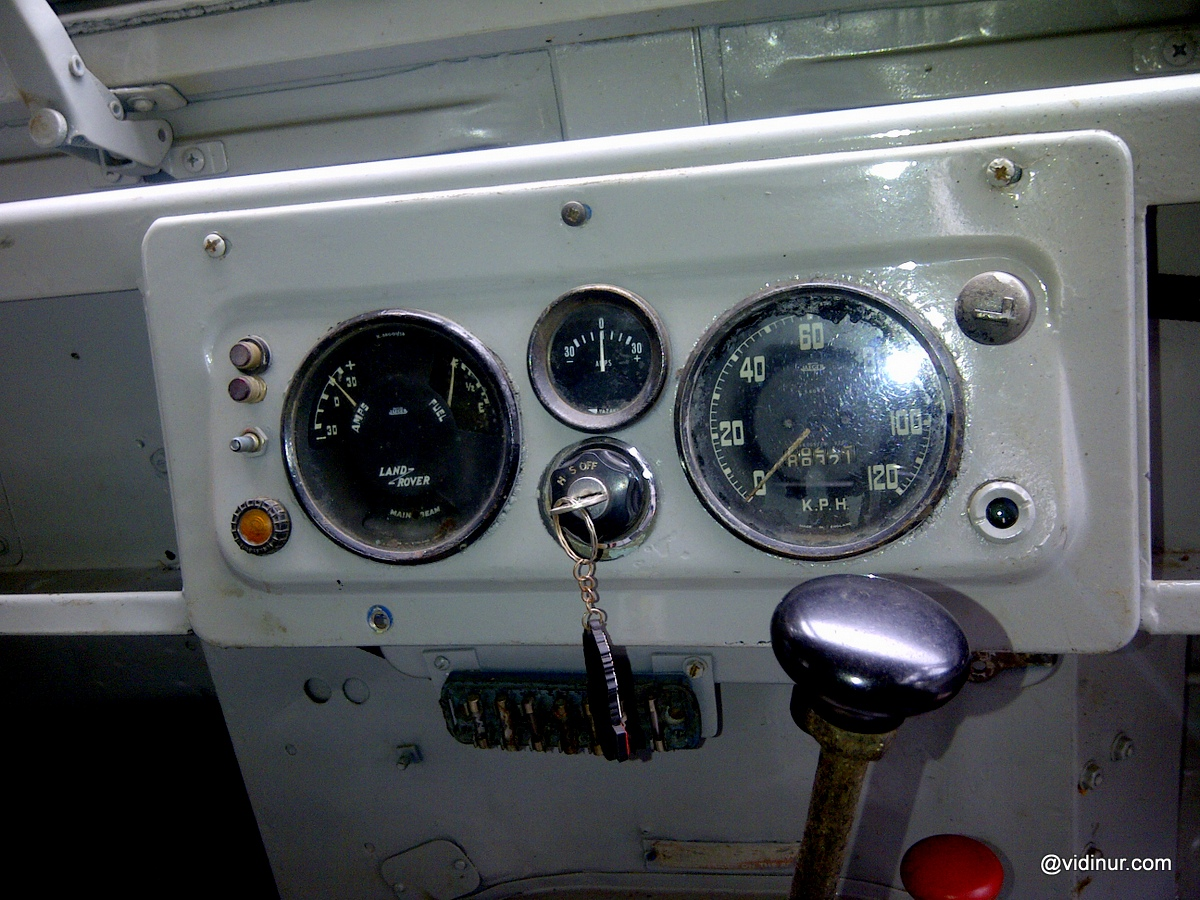 Interior And Lights Land Rover Series 1 88 Inch 1958